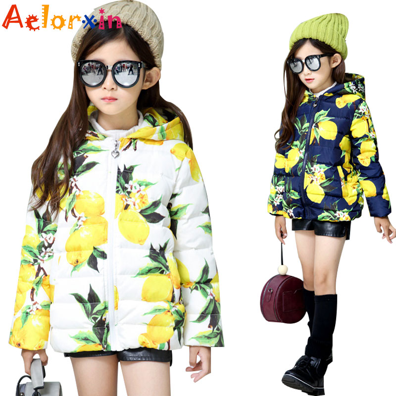 Girls Parkas Cotton-padded Coats Children Winter Jackets Kids Warm Outerwear Mango Girls Infant Hooded Clothes 4 6 8 9 12 Years winter russia girls cotton coats baby jacket thick warm kids outerwear parkas children clothing for 4 6 8 10 12 years