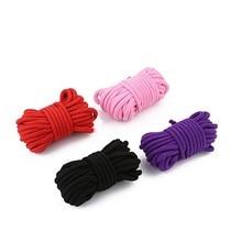 5M10M секс кабалы хлопка шнур ограничения ролевая игра, рабы игрушки для пар, продукция для любовных игр БДСМ бондаж Фетиш Harnes 4 вида цветов