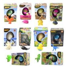 Волшебное Инкубационное яйцо динозавра Инкубационное яйцо выращивание в воде Домашние животные яйцо игрушка для детей Детский подарок