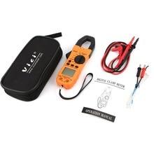 Vici CM-2016 Handheld Digital Clamp Meter Multimeter AC/DC Volt Strom Spannung Ohm NCV Temperatur Tester Widerstand Amperemeter