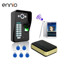 ENNIO SYWIFI007 Waterproof 125KHZ Rfid Door Access IOS Android Smartphone Control IR Night Vision Video Intercom WiFi Doorbell