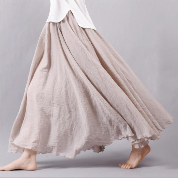 Марки длинных юбок