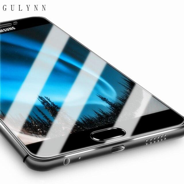 SATıŞA! 2.5D 9 H Premium Temperli Cam filmi samsung J3 J5 J7 A3 A5 A7 2016 2017 Galaxy Grand Başbakan Ekran Koruyucu Kılıf