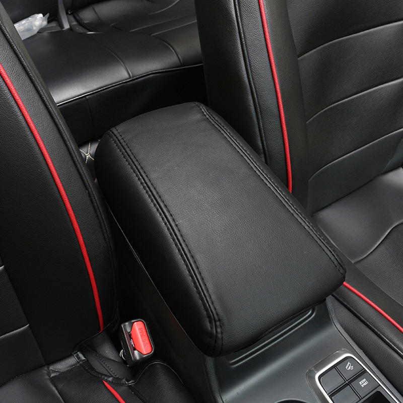 Image 2 - Vtear For hyundai creta ix25 Accessories central armrest box cover  leather protection pad Interior Parts car styling 2018 2019-in Armrests from Automobiles & Motorcycles