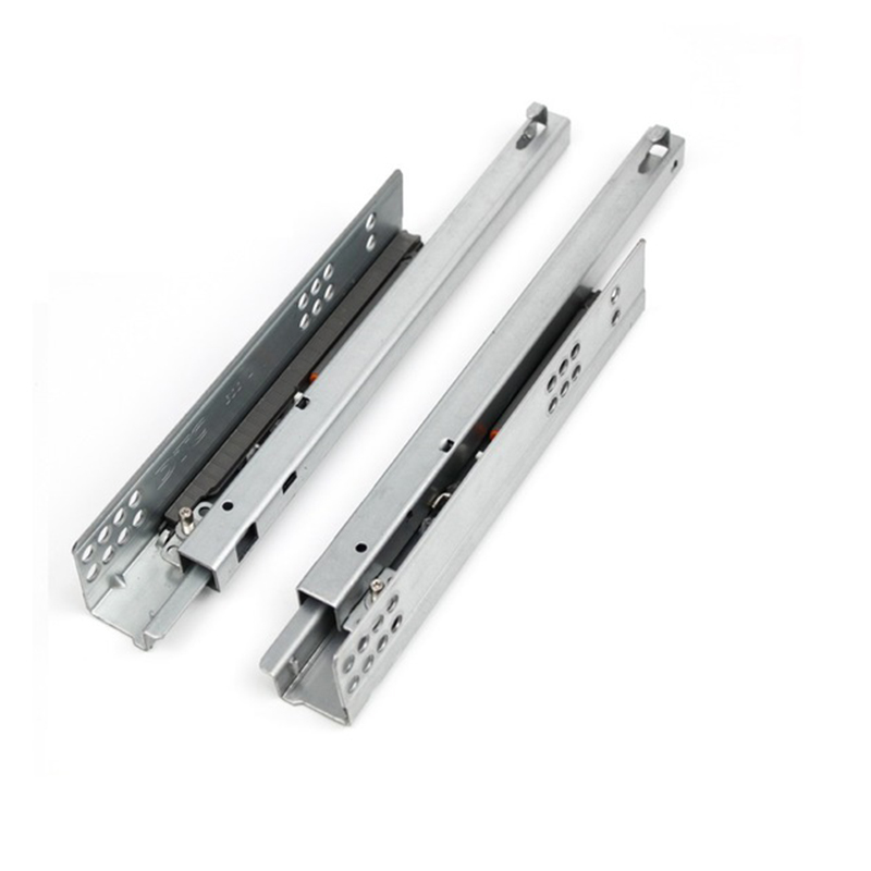 1Pair Top Quality Super Smooth/&quiet Soft Close Ball Bearing Drawer Slides