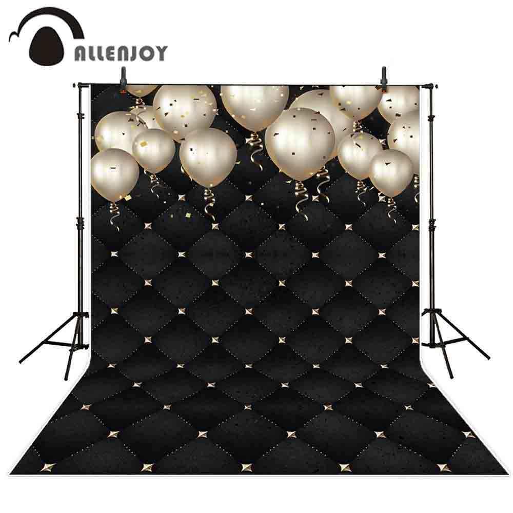 Allenjoy vinyl photo backdrop diamond shiny Headboard balloon birthday Party photocall photobooth decor studio custom shoot prop