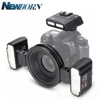 Новый майке MK MT24 Macro twin Lite флэш памяти для Nikon Цифровые зеркальные фотокамеры Бесплатная доставка