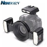 NEW Meike MK MT24 Macro Twin Lite Flash for Nikon Digital SLR Cameras Free shipping