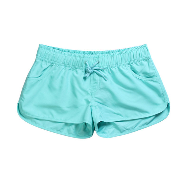 Green Teal Diamonds Mens Quick Dry Summer Surfing Boardshorts