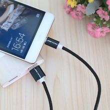 VOXLINK 5Pack Aluminum Nylon Micro USB Cable 0.5M/1M/2M/3M Charging Mobile Phone Cables For Samsung Galaxy HTC Android Cellphone