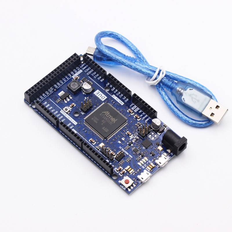 Para arduino Due 2012 R3 ARM versión placa de Control principal SAM3X8E 32-bit ARM Cortex-M3/Mega2560 R3 Duemilanove