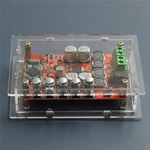 TDA7492P 50 Вт + 50 Вт Беспроводная Связь Bluetooth 4.0 Аудио Приемник Цифровой Усилитель Доска с Прозрачной Оболочки