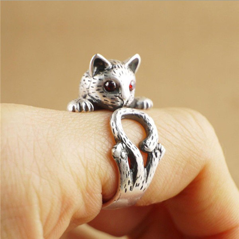 cat wrap around ring
