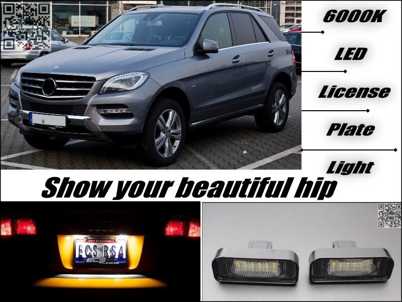 Auto Kennzeichen LED Licht/Lampe Für Mercedes Benz ML M MB W164 ...