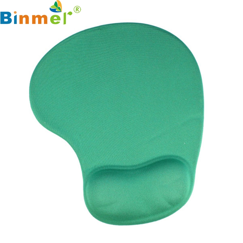 Binmer New Mecall Tech New Comfortable Mouse Pad With Gel Wrist Support for PC Notebook Laptop Tablet PC Free Shipping