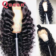 360 Lace Frontal Wig Loose Deep Wave Lace Front Human Hair Wigs For Black Women Brazilian 100% Human Hair Wigs Queen Hair