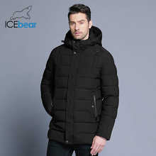 ICEbear 2018 new men's winter jacket warm detachable hat male short coat fashion casual apparel man brand clothing MWD18813D(China)