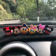 Car Air Freshener Cartoon Minnie Auto Accessories Mickey Clip Conditioning Breathable Perfume