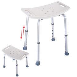 Пожилым людям Регулируемая медицинская ванна душ стул табурет сиденье высотой 7