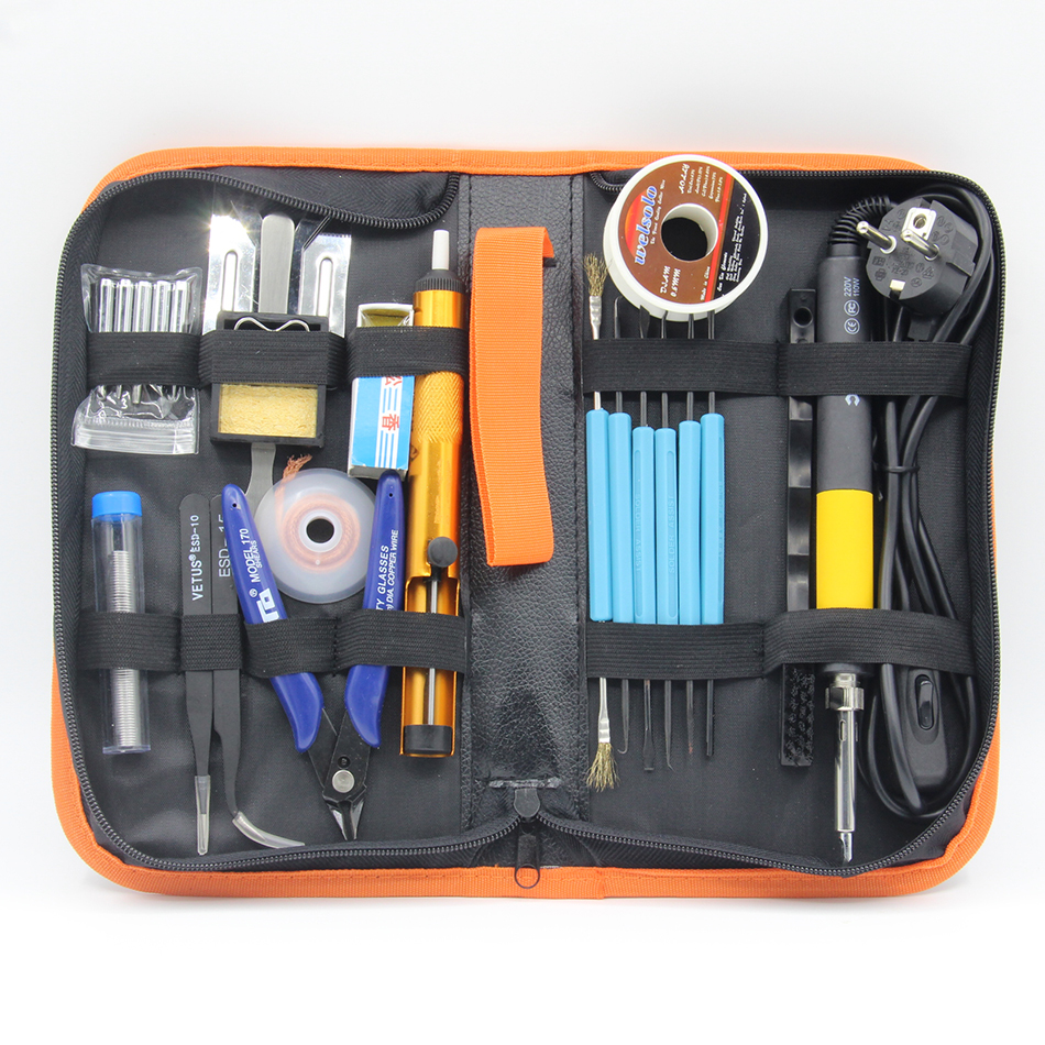 CXG DS110T DS90T DS60T High quality 220V 110V anti-static electric iron thermostat digital soldering iron Tweezers rosin Toolkit cxg ds90t 90w soldering iron high quality heat soldering stand welding electric soldering iron tip suction tin pump toolkit
