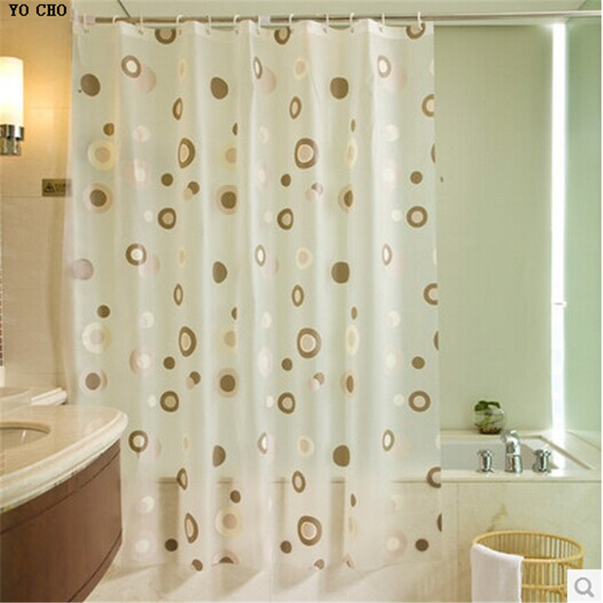 Cat With Sunglass And Orange Juice Polyester Fabric Shower Curtain Set 180x180cm