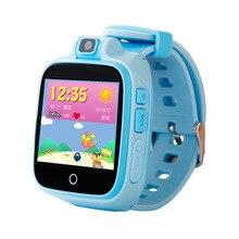 Смарт-часы ребенок безопасный монитор gps Tracker Дети Android IOS Водонепроницаемый Детские SOS Remote Monitor Камера SIM сеть 4G наручные часы