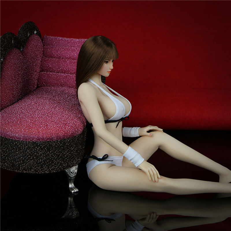1/6 Scale Female Action Figure Seamless Body With Accessories For Phicen Head цена 2017