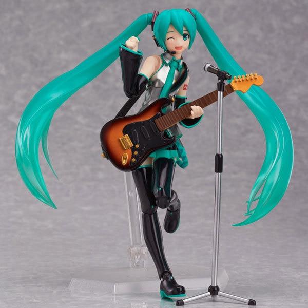 Anime Figürü 15 CM Hatsune Miku Figma 200 PVC Action Figure Koleksiyon Model Oyuncak