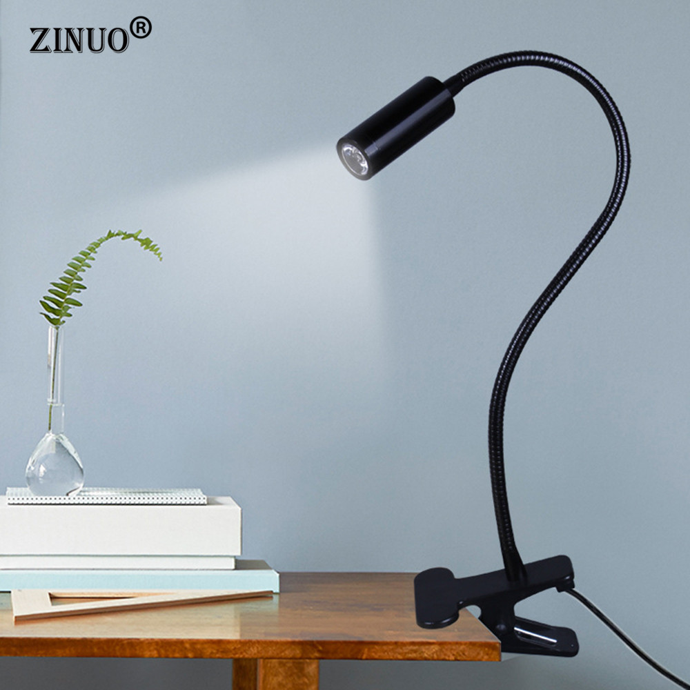 ZINUO High Power LED Desk Lamp Flexible Adjustable Reading Lamp ...
