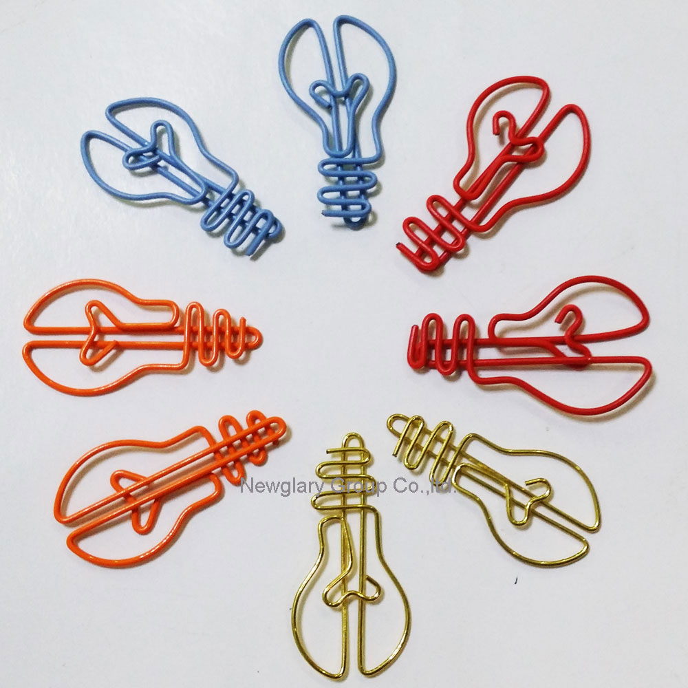 100pcs/lot  Everyday Objects  Paper Clips Creative Interesting Bookmark Clip Memo Clip Shaped Paper Clips For Office School Home