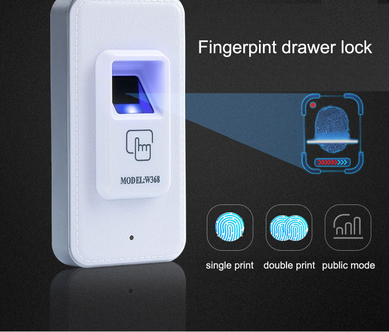 Fingerprint drawer lock electronic Cabinet lock,suit for Bedside cupboards lockers sauna cabinets bookcases filing cabinets etc. remote control cabinet electronic lock electric bolt lock for lockers gun cabinets cash drawer