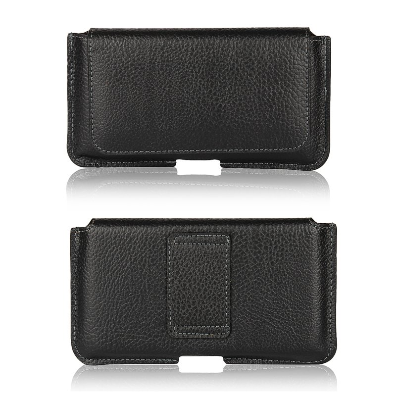 low priced d5d06 43346 US $4.6 20% OFF|Holster Leather Pouch For Huawei P8 P9 Lite P10 Plus P20  Pro Belt Clip Bag Case Cover Men Shell Coque For Huawei P10 P8Lite 2017-in  ...
