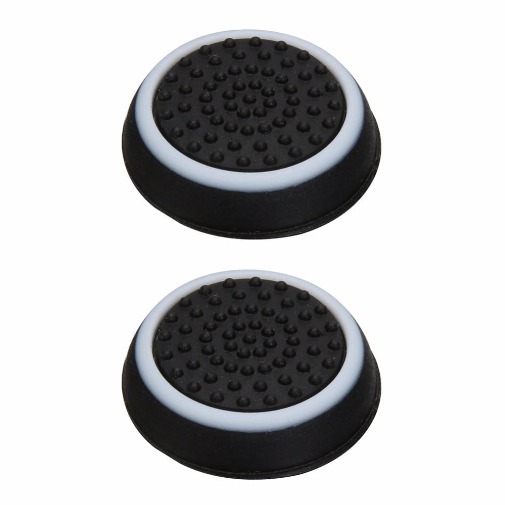 VKTECH 2pcs Game Controller Button Caps Anti Skid Game Controller Joystick Button Caps for PS4/PS3/Xbox