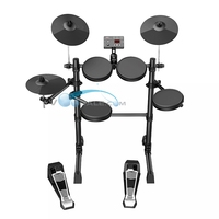 TDX-15 Electronic Drums Kit Simplified Control Panel Design 12 Drum Kits Sounds Easy Assembly Metronome Inside Good Quanlity