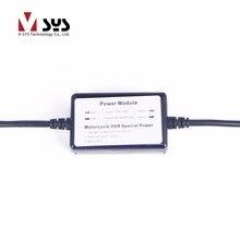 Нормальный Мощность с подключением воспламенитель или ACC для V SYS C3 C6 C6L T2 M2F M1 M1L M6 M6L мотоцикл видеокамера