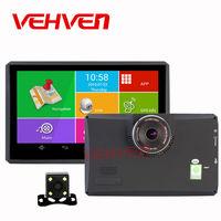 7 pouce GPS Navigation Android 512 Mb 8 Gb Voiture Dvr Caméra 1080 P Enregistreur Livraison Carte Quad-core Tablet PC Camion Véhicule Gps