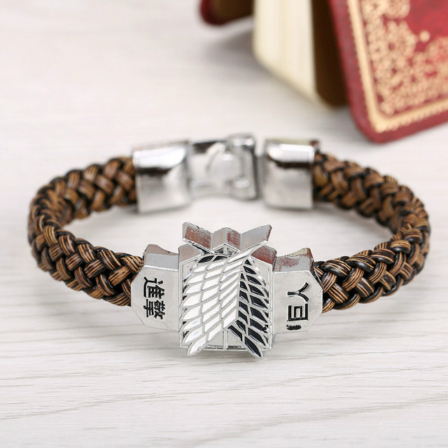 attack on titan wristband bracelet fandom express