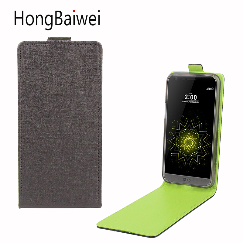 HongBaiwei Cover for LG LV5 Case Flip Luxury Leather Fashion Hit Color Mobile Phone Case for LG LV5