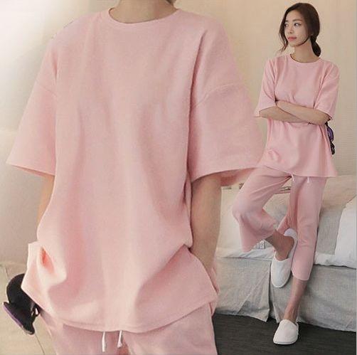 Women\'s Calf-Length Cotton Pajama Sets RBS-D RB11 0