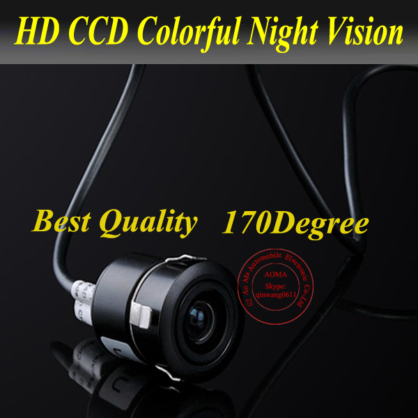 New Arrival!170 NTSC system View Backup Reverse Car Rear Camera Color Weatherproof,Free shipping! 737