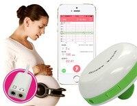 Angelsounds bluetooth foetale doppler JPD-100S + draagbare echografie Prenatale Baby Hartslag Monitor, 2.0 MHZ foetale hart monitoren