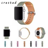 Watch Accessories For Apple Watch Band Strap 42mm 38mm Sport Woven Nylon Fabric Watchband Wrist Bracelet