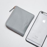 EMMA YAO Genuine Leather Wallet Female Fashion Women Wallets Famous Brand Coin Purses Holders