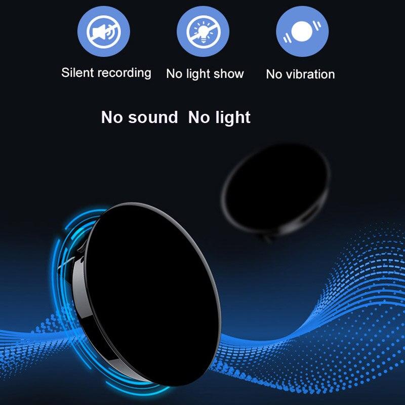 Mini enregistreur vocal avec mot de passe MP3 Audio Badge d'enregistrement activé par le son enregistrement professionnel numérique - 4