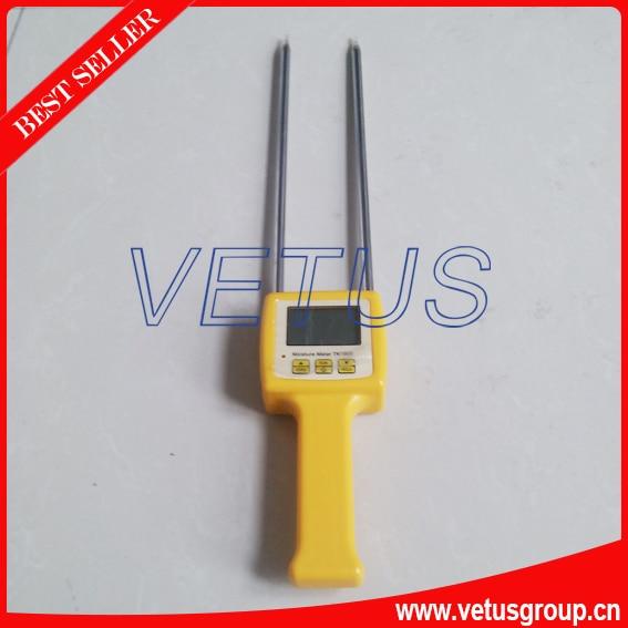 TK100S 4 Digital LCD Grain Moisture Meter with Corn,Beans,Rice tester  4 digital lcd grain moisture meter tester corn beans rice tk100s range 5 35%