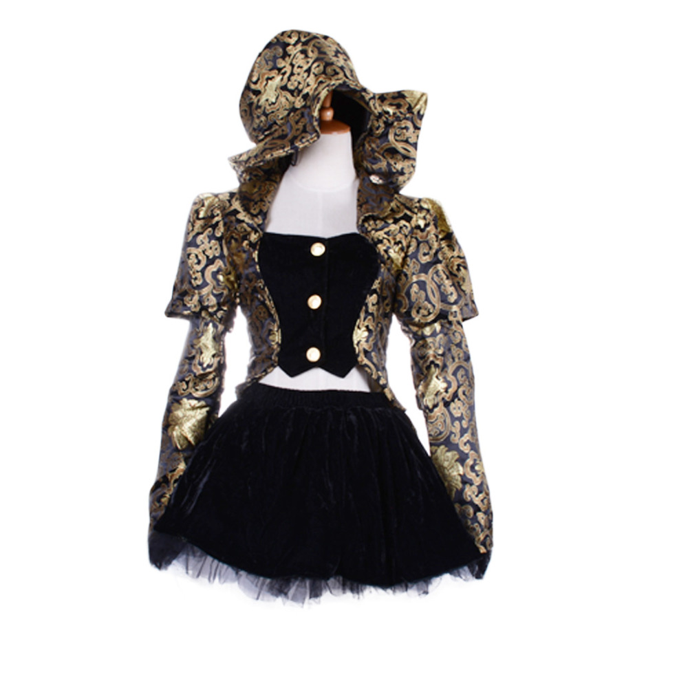 Mad Hatter costume Alice In Wonderland cosplay women adult halloween costumes for women Magician sexy fancy dress fantasia