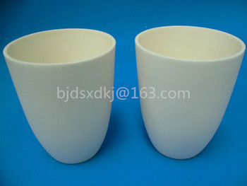 99.3% alumina crucible / 800ml / Arc-Shaped / corundum crucible / Al2O3 ceramic crucible / Sintered crucible фото