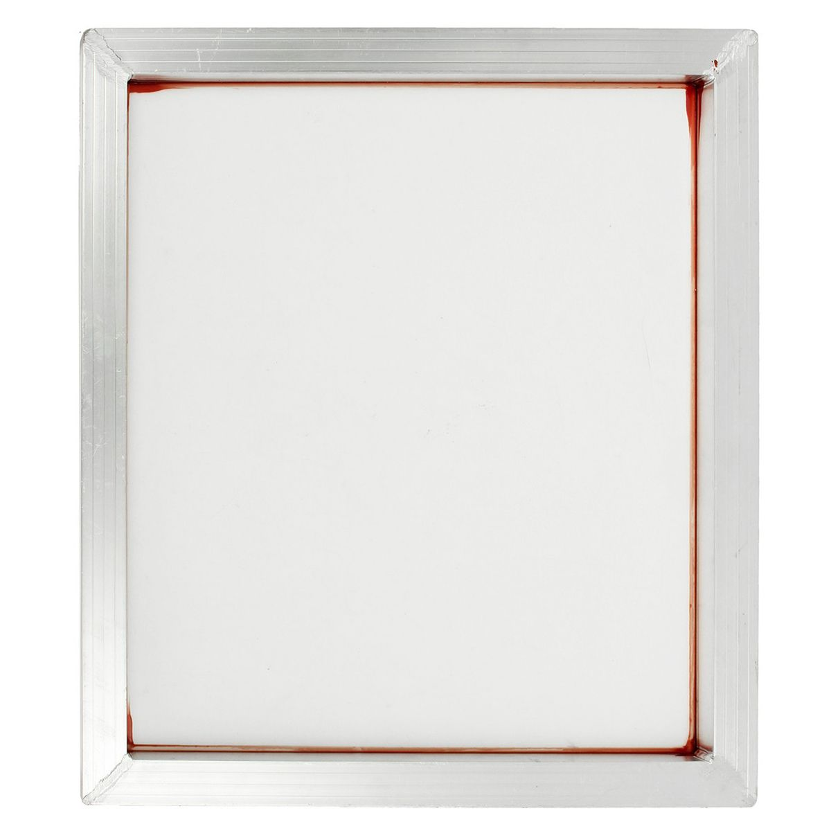 110 Mesh Screen Printing Aluminium Frame Stretched With White Silk Print Polyester Mesh For Printed Circuit Aluminium Frame