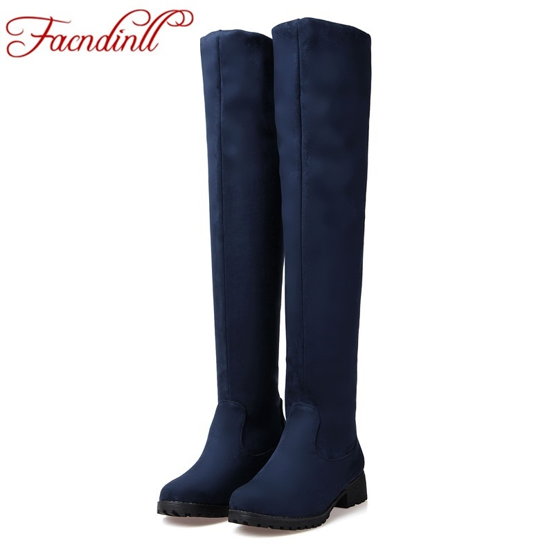 2017 new winter fashion skinny stretch boots classic women's fashion sexy woman black red blue boots big size 33-43 women boots brand jeans fashion women pants plus size stretch skinny high waist sexy pant woman blue pencil casual slim denim clothing k095