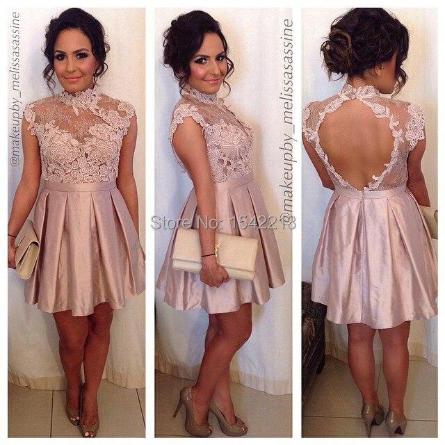 Blushing Pink Taffeta Dress